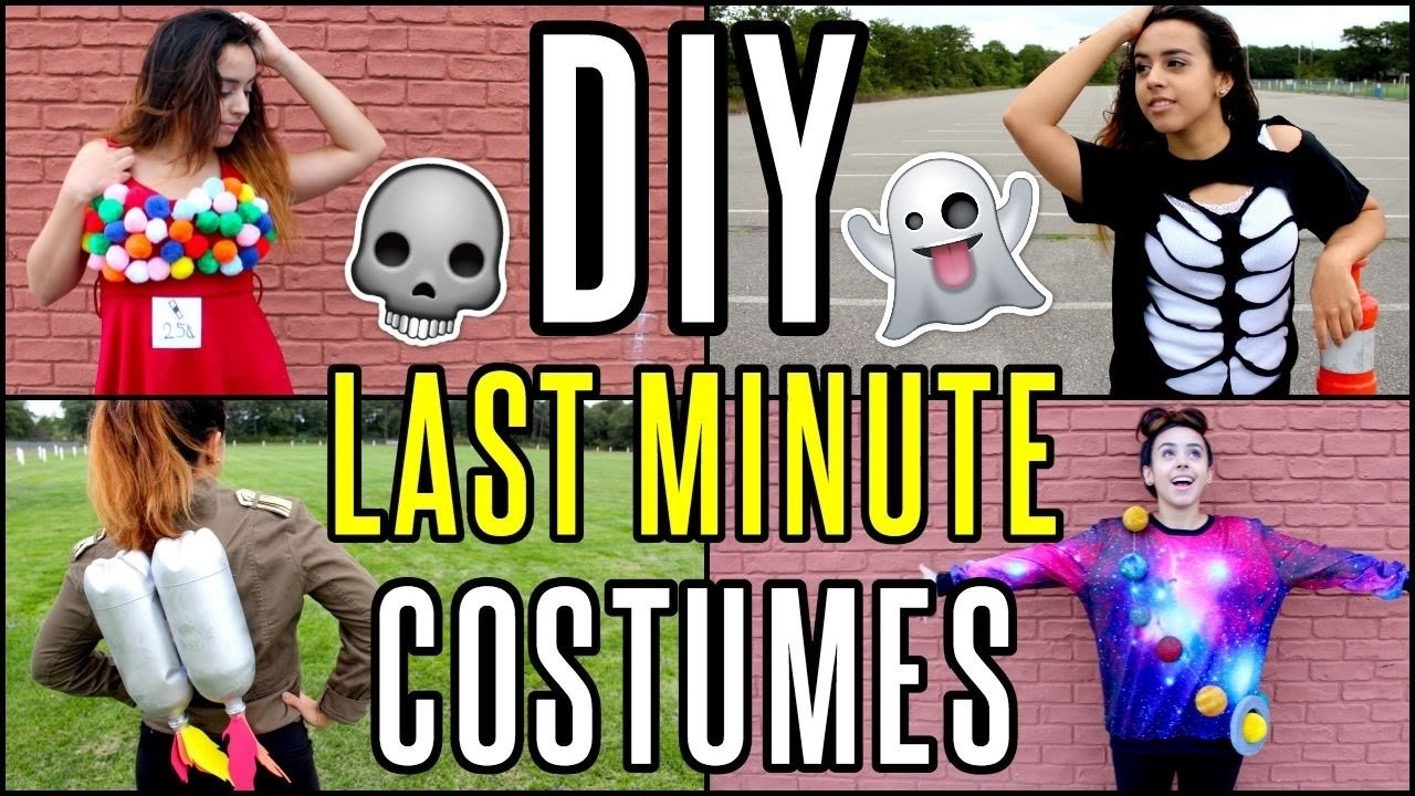 last-minute, fun (and cheap!) halloween costume ideas - the craft