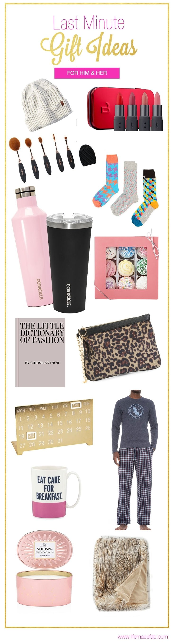 10 Amazing Last Minute Gift Ideas For Her last minute gift ideas for him and her but mostly her life