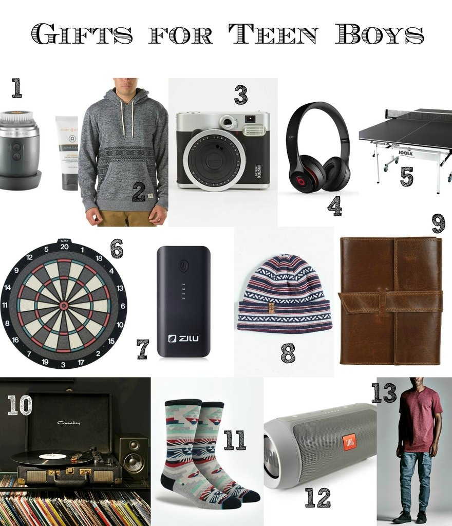 last minute gift ideas for teen boys and men {that don't feel last