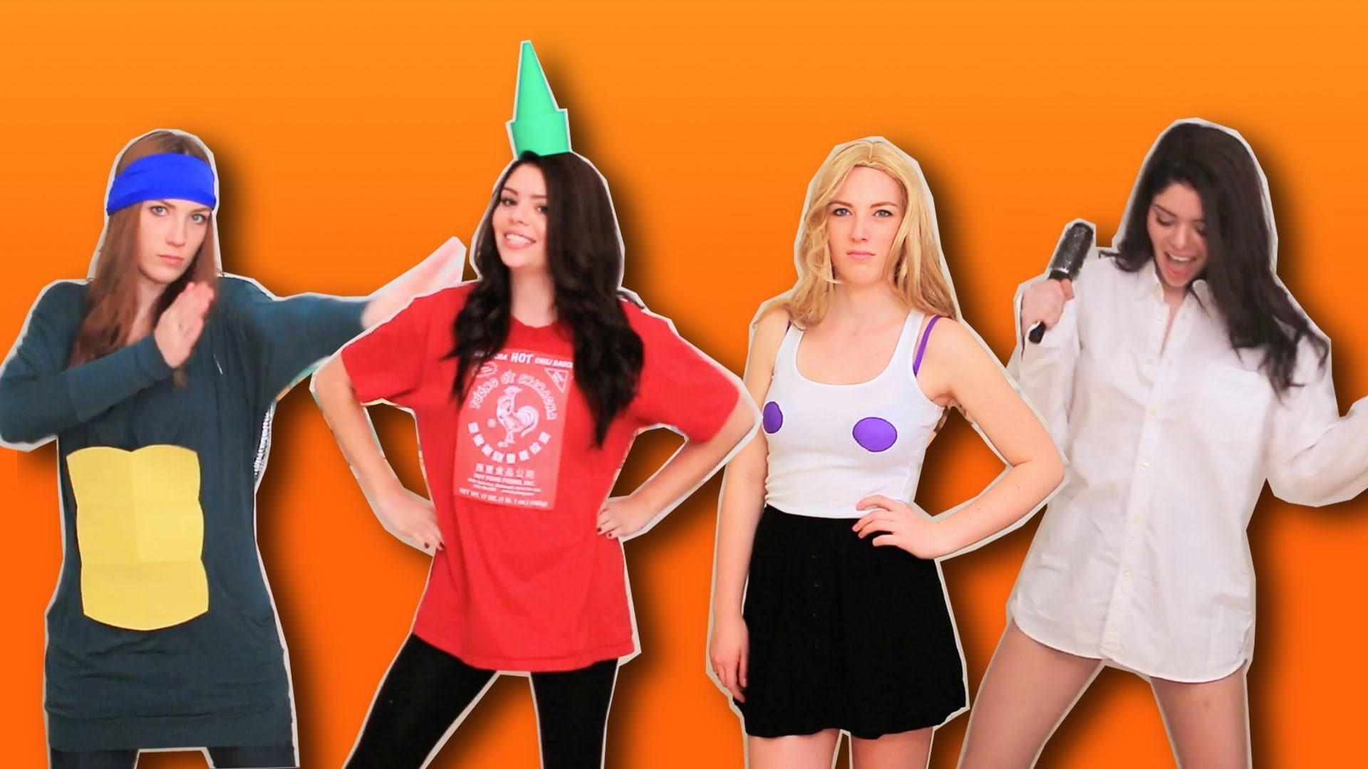 10 Cute Costume Ideas For 2 Girls last minute halloween costume ideas couples costumes youtube 2020
