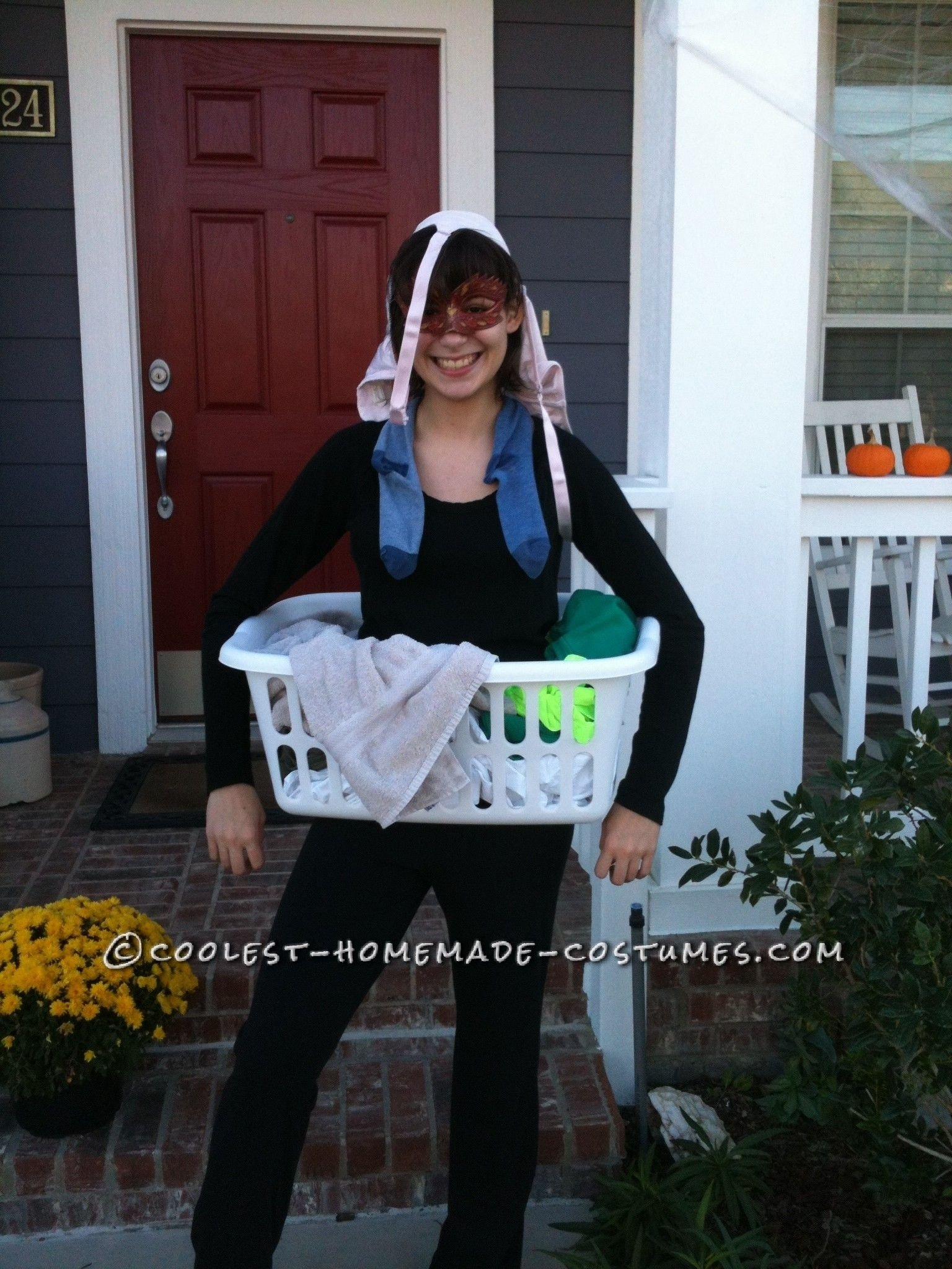 10 Beautiful Homemade Funny Halloween Costume Ideas last minute homemade costume idea dirty laundry homemade 2020