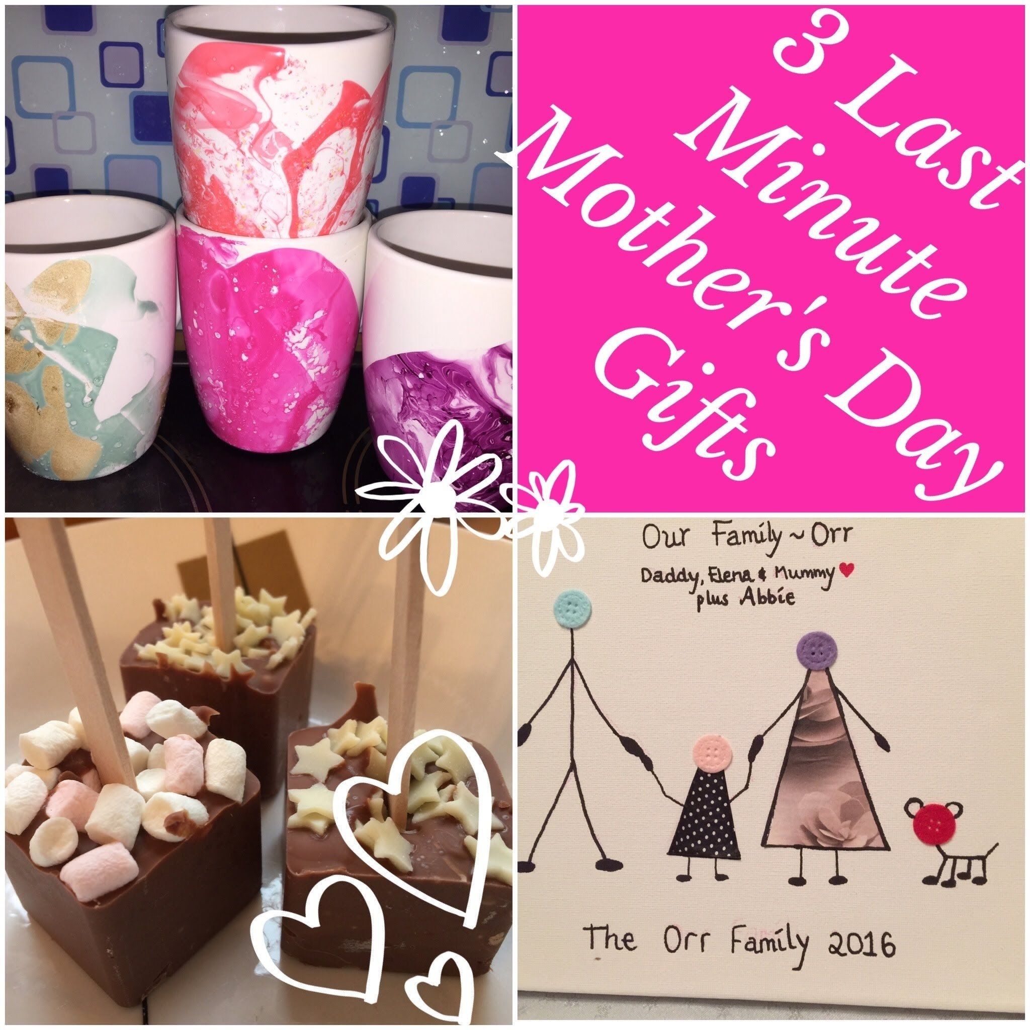 10 Fashionable Homemade Mother Day Gift Ideas last minute mothers day gift ideas easy quick diy gifts youtube 2020