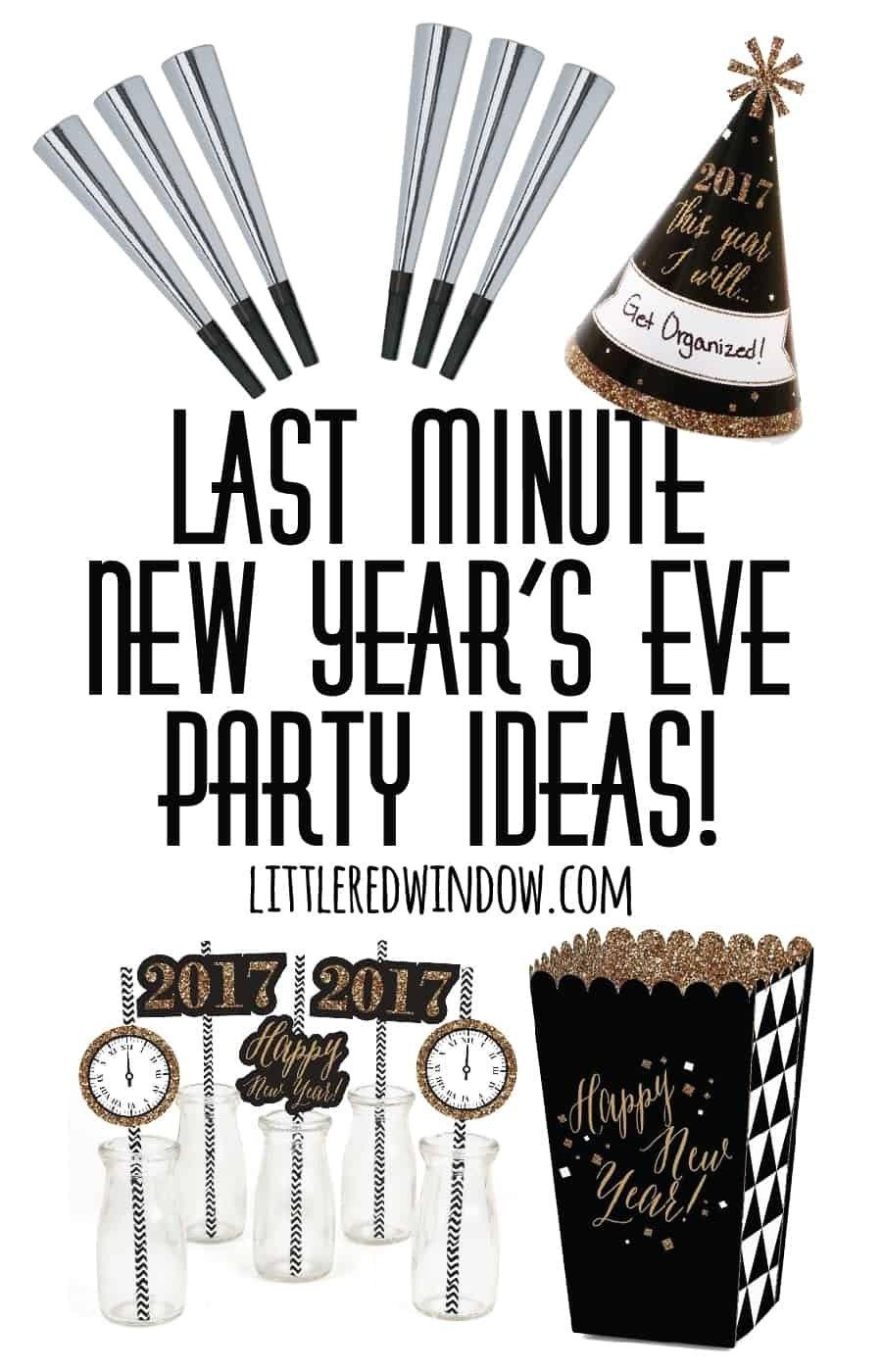 10 Lovable Last Minute New Years Eve Ideas last minute new years eve party ideas little red window 2020