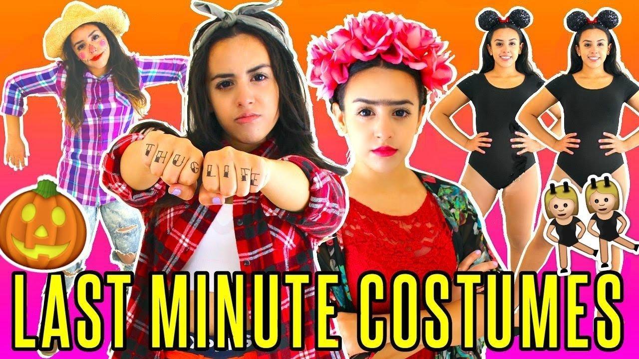 10 Elegant Quick Easy Halloween Costume Ideas last minute quick easy halloween costume ideas rosaliesaysrawr 3 2021