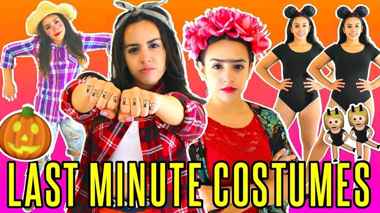 last minute quick & easy halloween costume ideas | rosaliesaysrawr