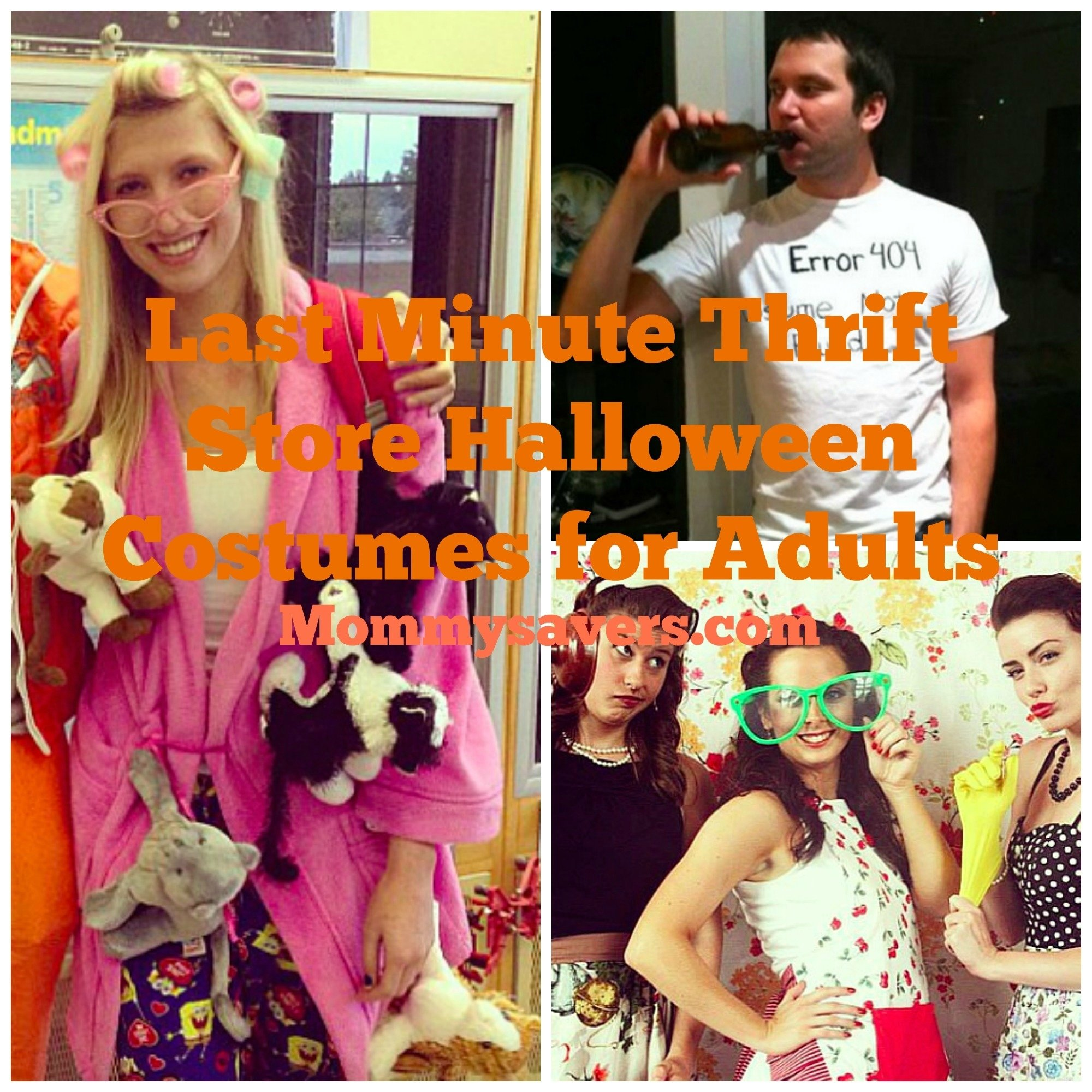 10 Attractive Last Minute Funny Halloween Costume Ideas last minute thrift store halloween costume ideas for adults 1 2021