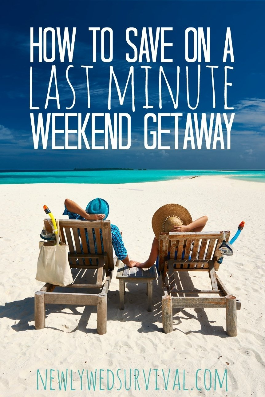 last minute travel: how to save on a weekend getaway @groupon ad