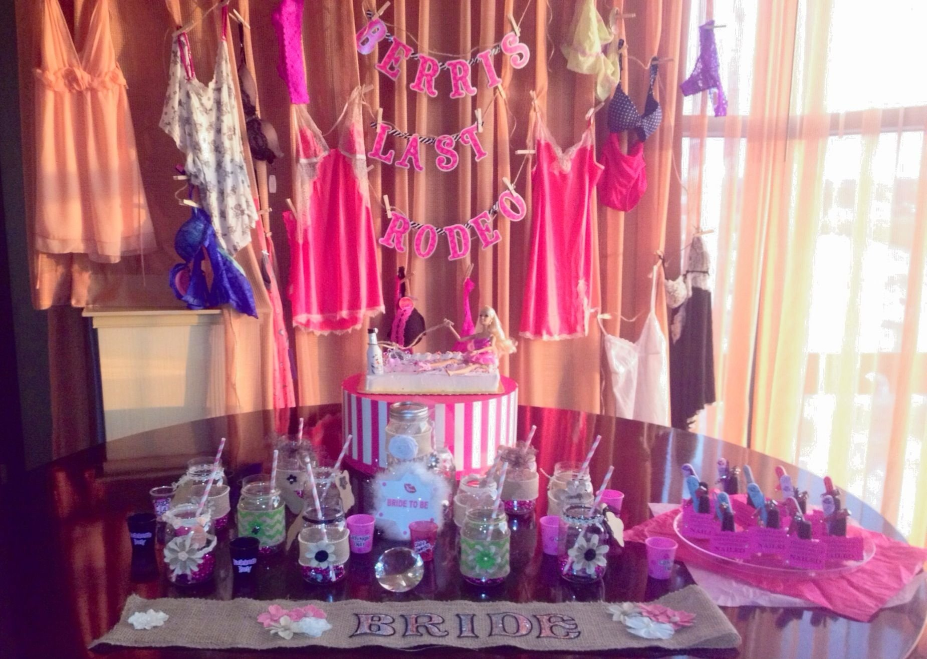 10 Stunning Bachelor Party Ideas Las Vegas last rodeo bachelorette party theme party decor and ideas 1 2020