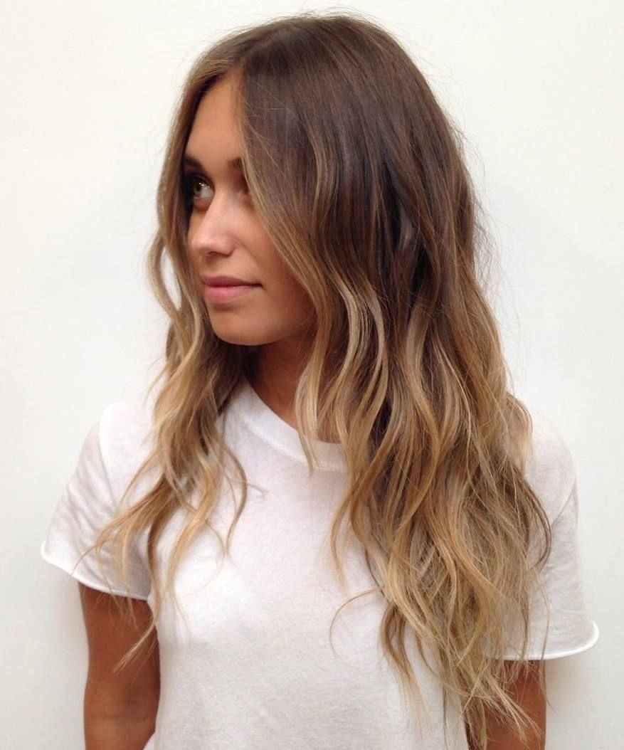 10 Attractive Highlight Ideas For Light Brown Hair latest balayage hair color ideas light brown balayage hair 1 2020