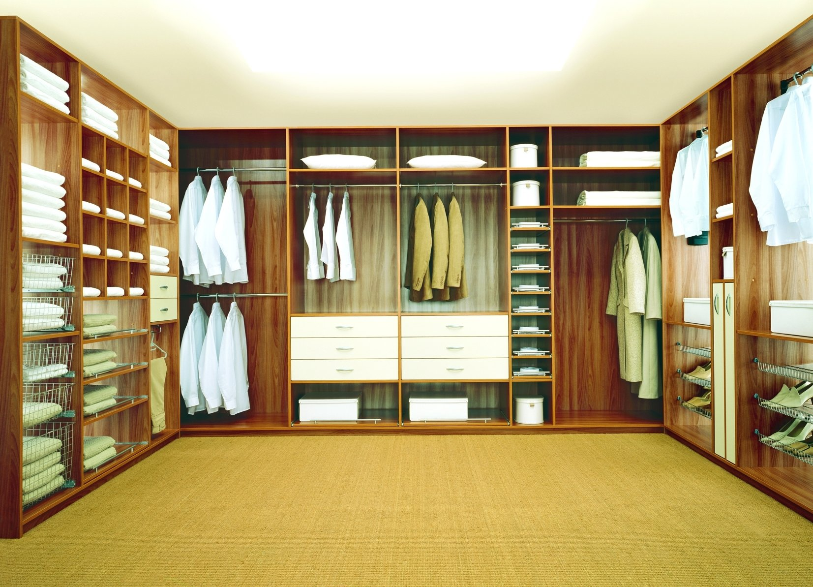 10 Awesome Ideas For Walk In Closets latest great walk in closet design ideas 34127 2020