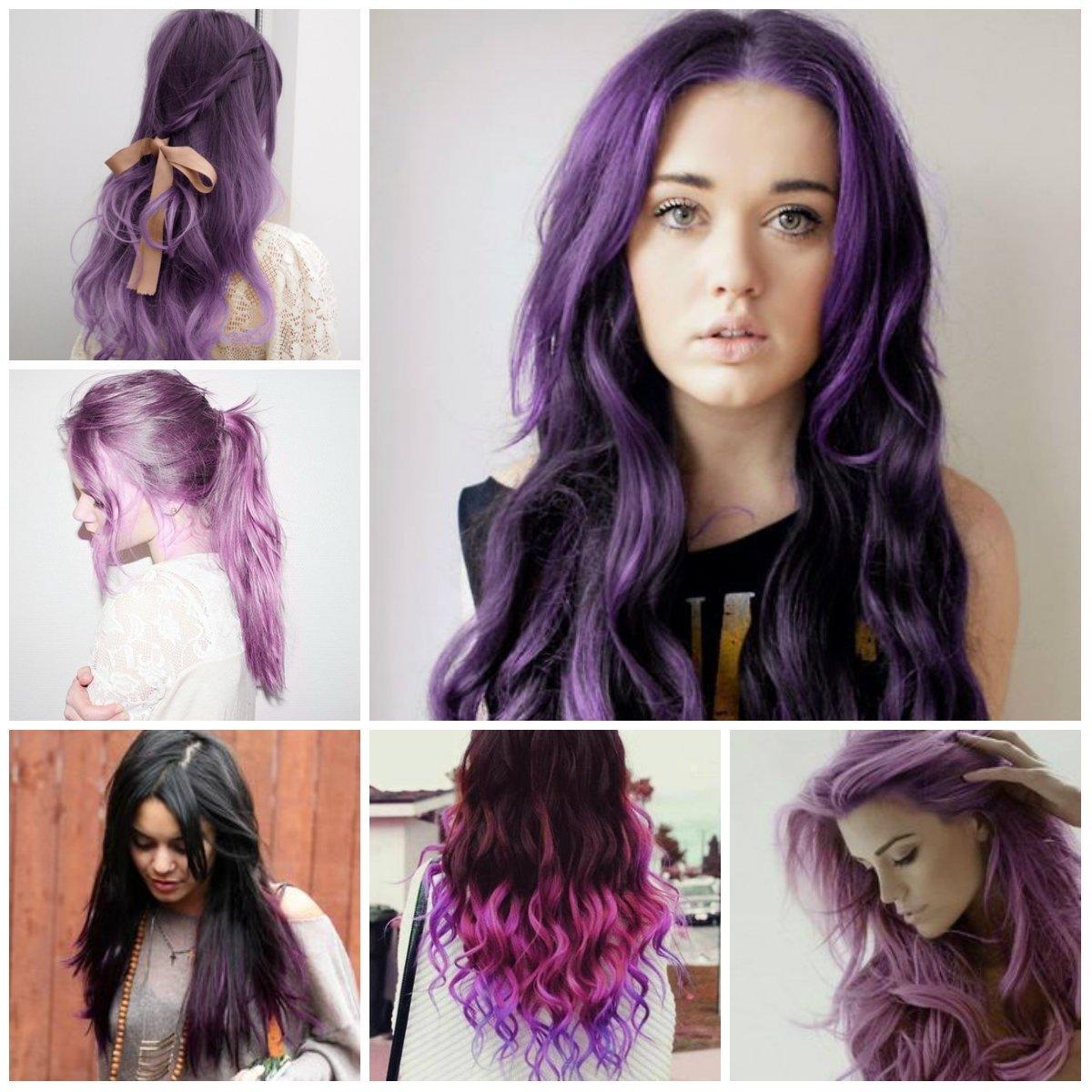 10 Attractive Cute Hair Color Ideas For Dark Hair latest hair color ideas 2016 trendy hairstyles 2015 2016 for 1 2020