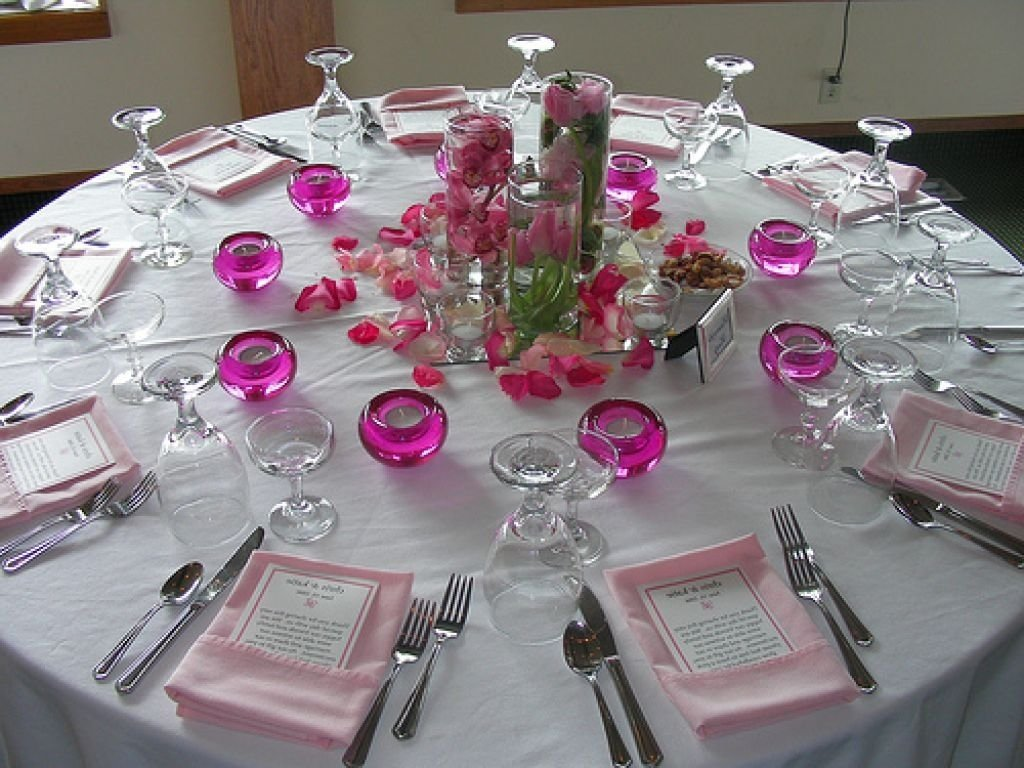 latest table decorations for wedding receptions ideas on decorations