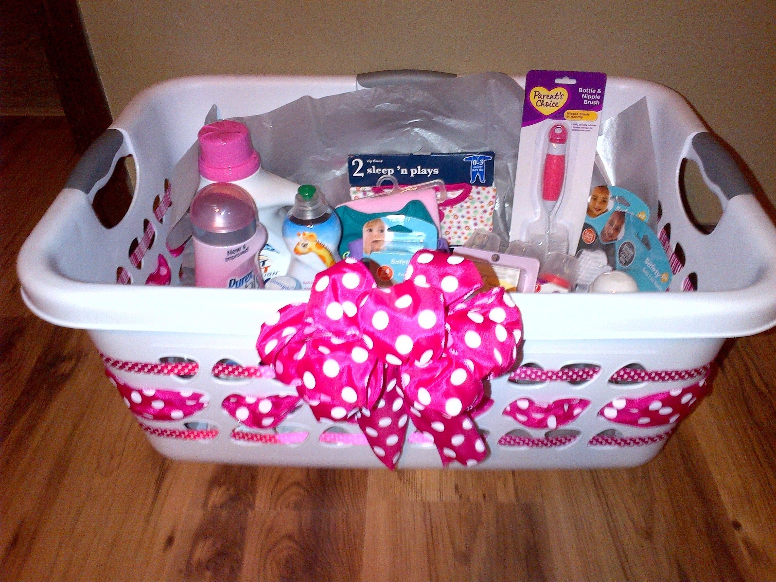 10 Lovable Baby Girl Gift Basket Ideas laundry basket baby gifts basket gifts pinterest laundry