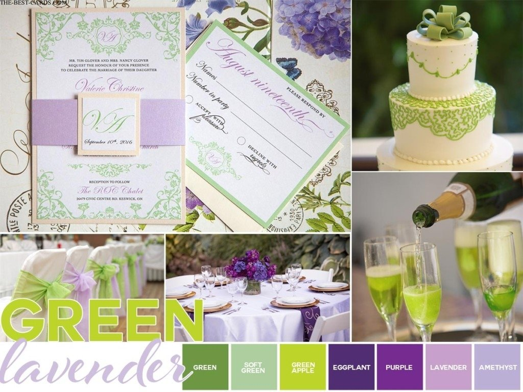 10 Awesome Purple And Green Wedding Ideas lavender garden green wedding theme ideas 1 2021