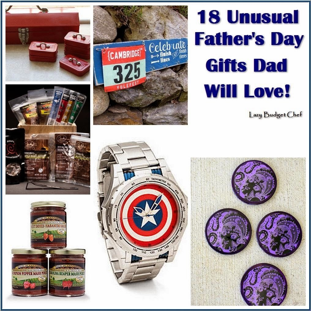 10 Fabulous Unique Gift Ideas For Dad lazy budget chef 18 unusual fathers day gift ideas dad will love 11 2020