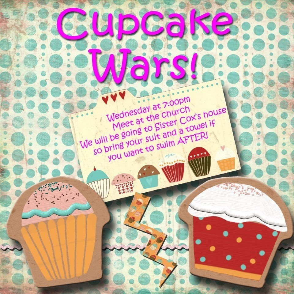 10 Awesome Lds Young Women Activity Ideas lds young women activity cupcake wars this was a very fun activity 2021