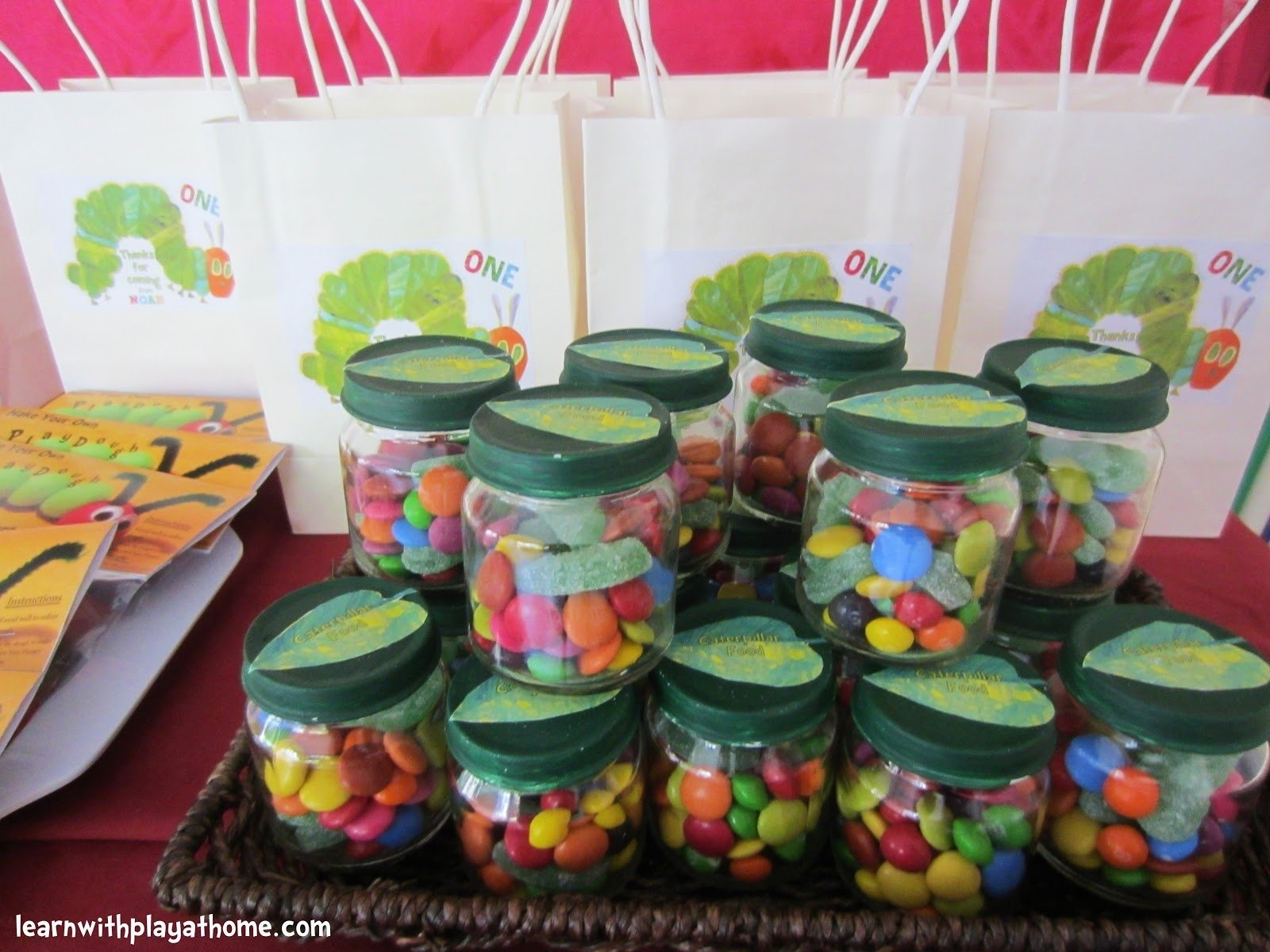 10 Attractive The Very Hungry Caterpillar Party Ideas learn with play at home diy party favours 2020