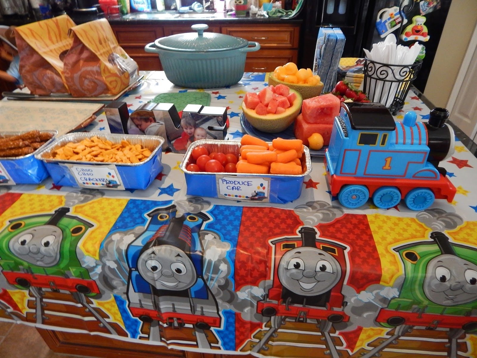 10 Fabulous Thomas The Train Party Food Ideas learning to pee with the door open the train party i have a 2 year 2021
