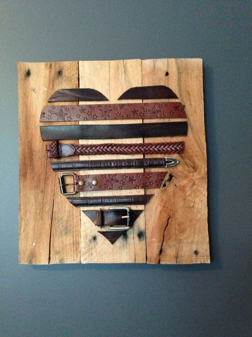 10 Beautiful 3 Year Anniversary Ideas For Her leather belts and pallets 3 year wedding anniversary traditional 3 2021