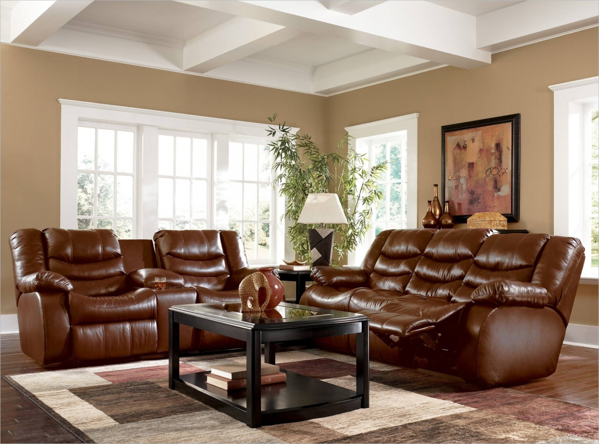 10 Stylish Brown Leather Sofa Decorating Ideas leather furniture decor living room home maximize ideas 2020