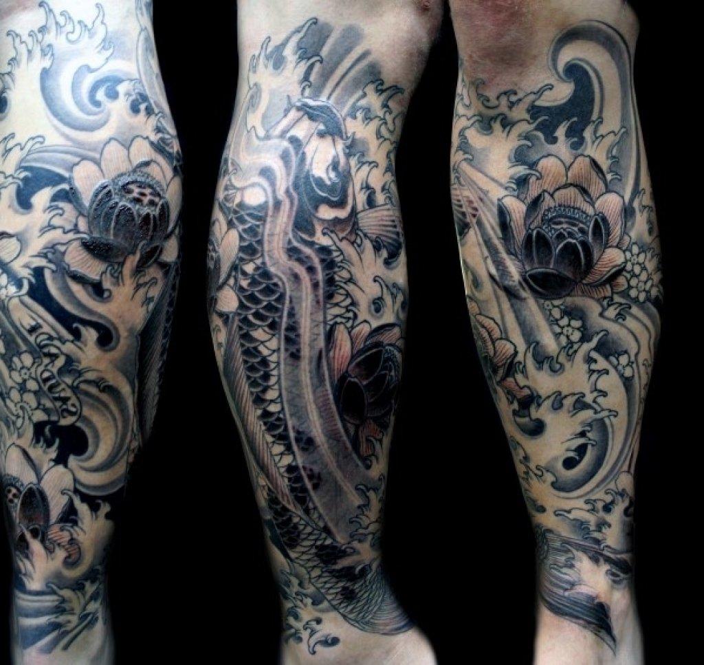 10 Unique Leg Tattoo Ideas For Men leg sleeve tattoo ideas for men mens leg sleeve tattoo leg tattoo on 2020