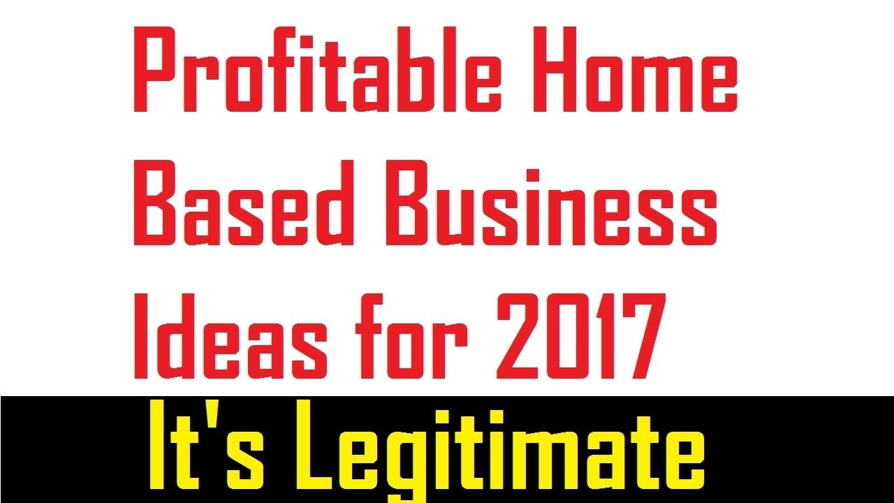 10 Unique Profitable Home Based Business Ideas