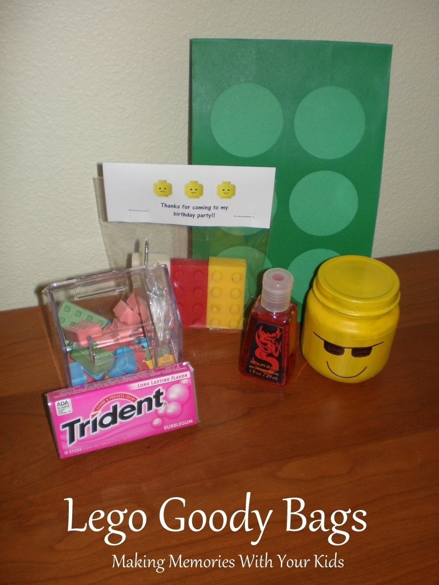 10 Stylish Birthday Party Goody Bag Ideas Lego The Bags Making Memories With