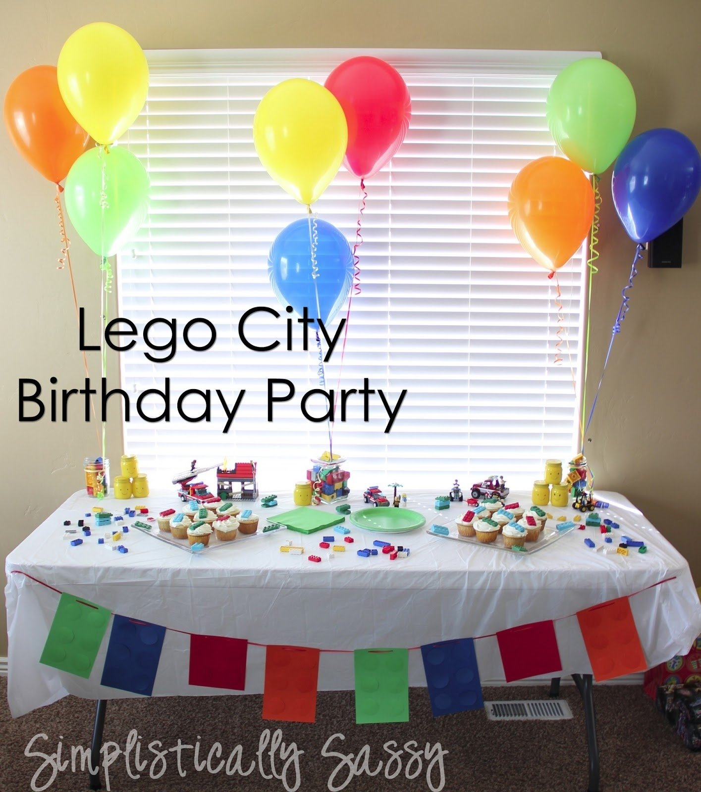 lego birthday partysimplistically sassy