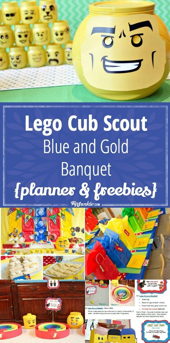 10 Fantastic Cub Scout Blue And Gold Ideas lego cub scout blue and gold banquet planner freebies tip junkie 1