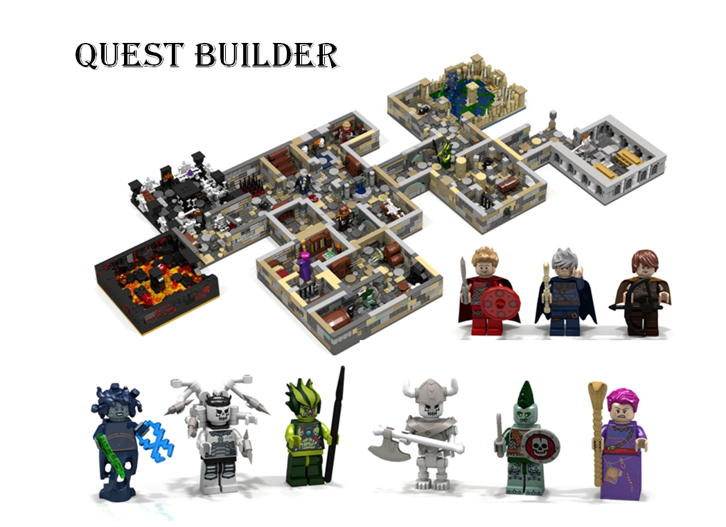 10 Perfect Dungeons And Dragons Adventure Ideas lego ideas quest builder 2020