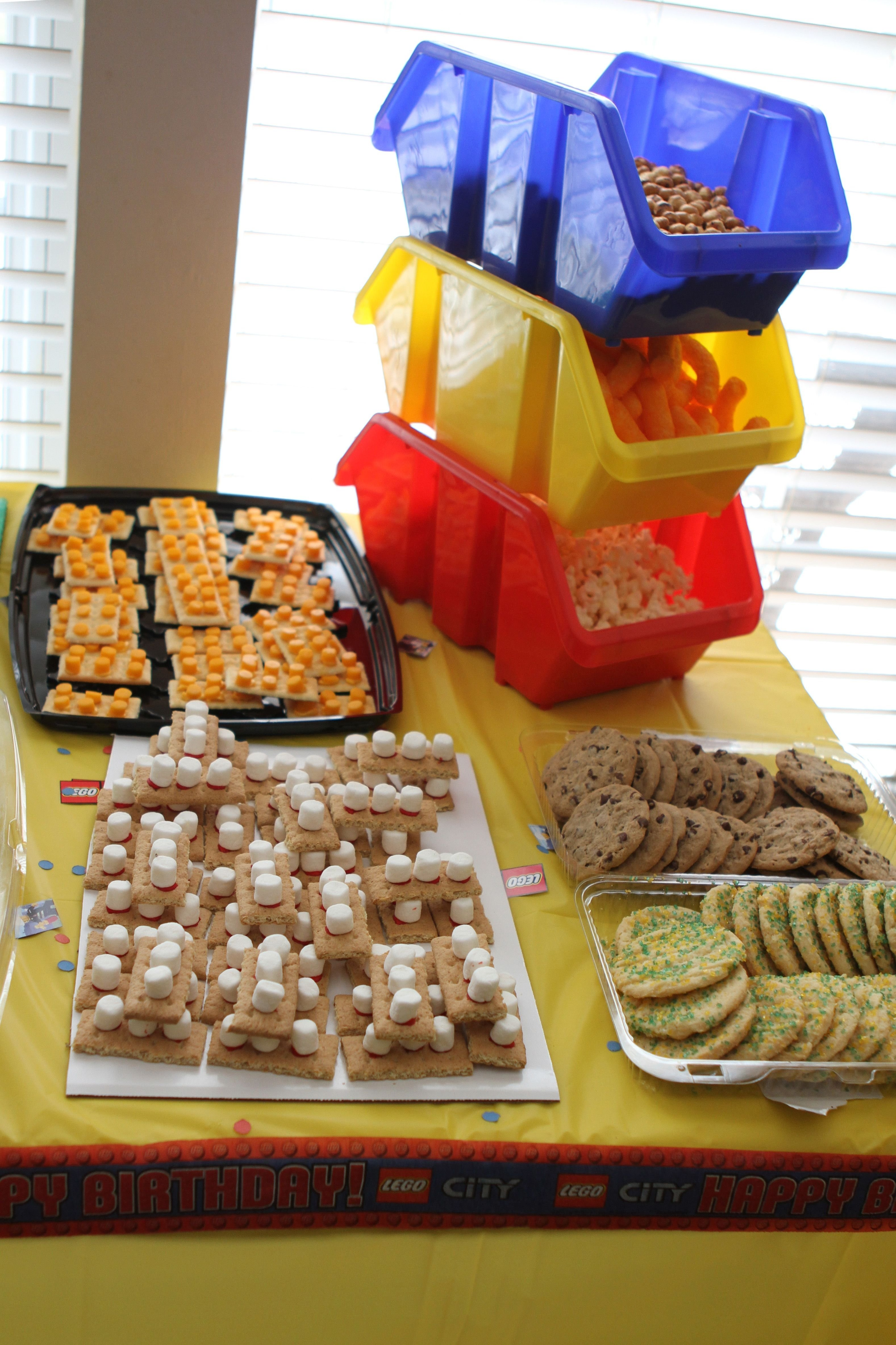 10 Nice Lego Birthday Party Food Ideas lego themed food ideas for my hubby this is so perfect 2020