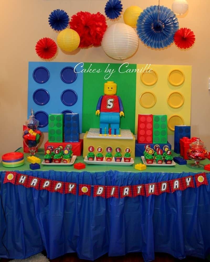 10 Amazing 5Th Birthday Party Ideas For Boys legos birthday party ideas photo 1 of 11 catch my party 2020