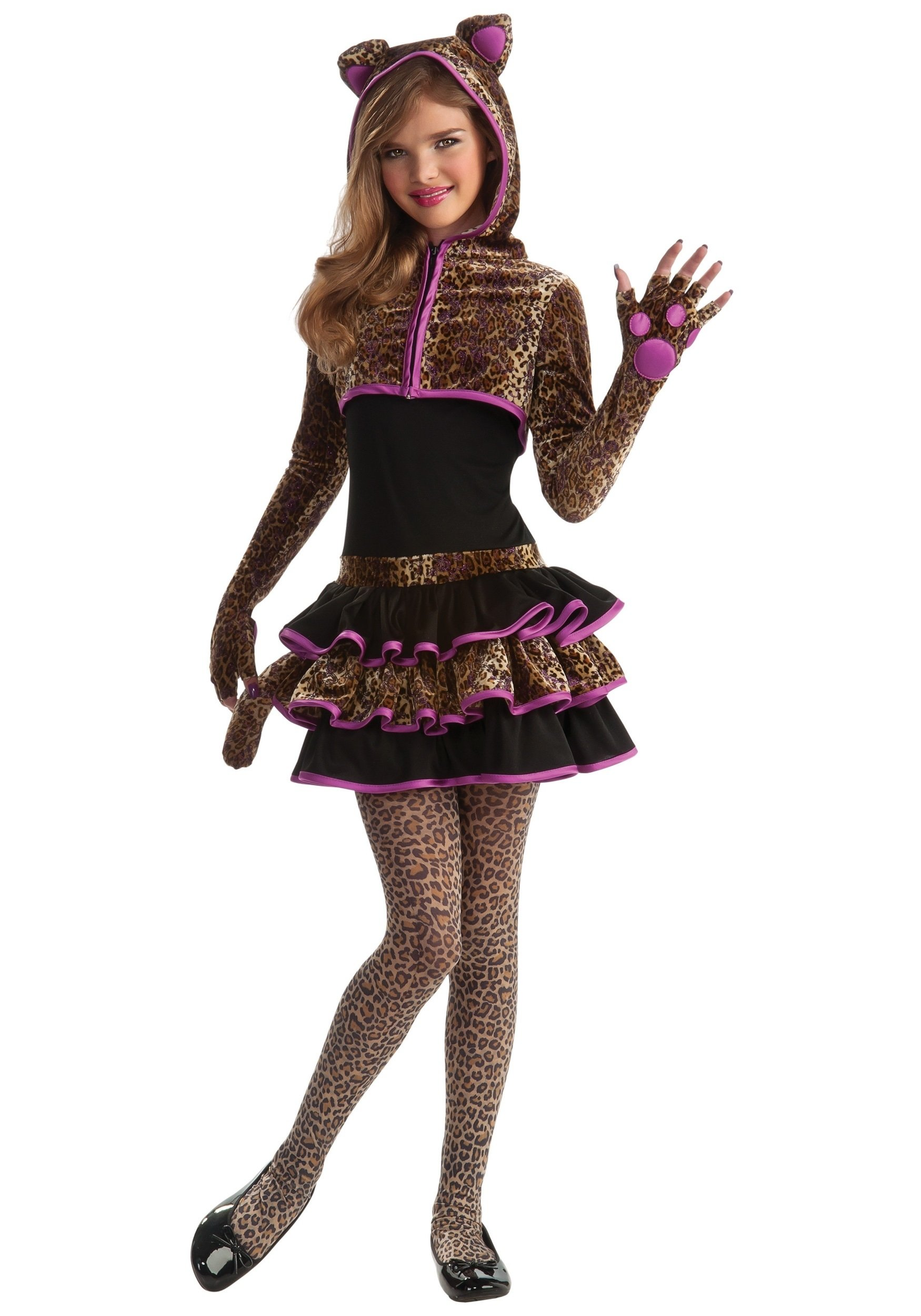 10 Stylish Costume Ideas For Tween Girls leopard tween girls costume kids animal costume ideas 2020
