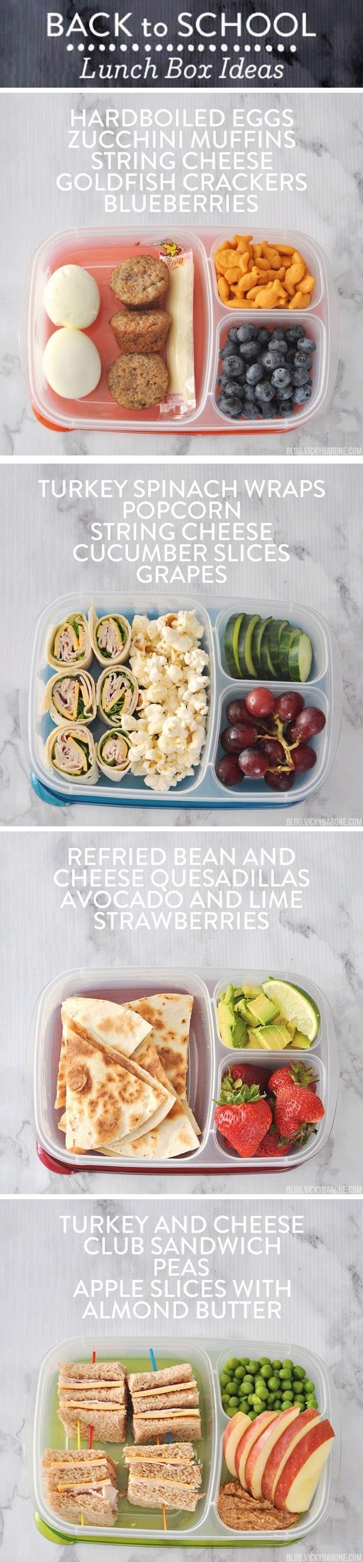 10 Great School Lunch Ideas For High Schoolers les 17 meilleures images du tableau lunch ideas sur pinterest
