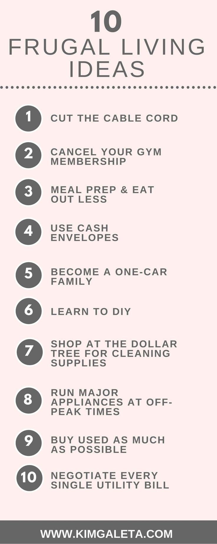 10 Awesome Frugal Ideas To Save Money les 301 meilleures images du tableau saving money tips sur pinterest