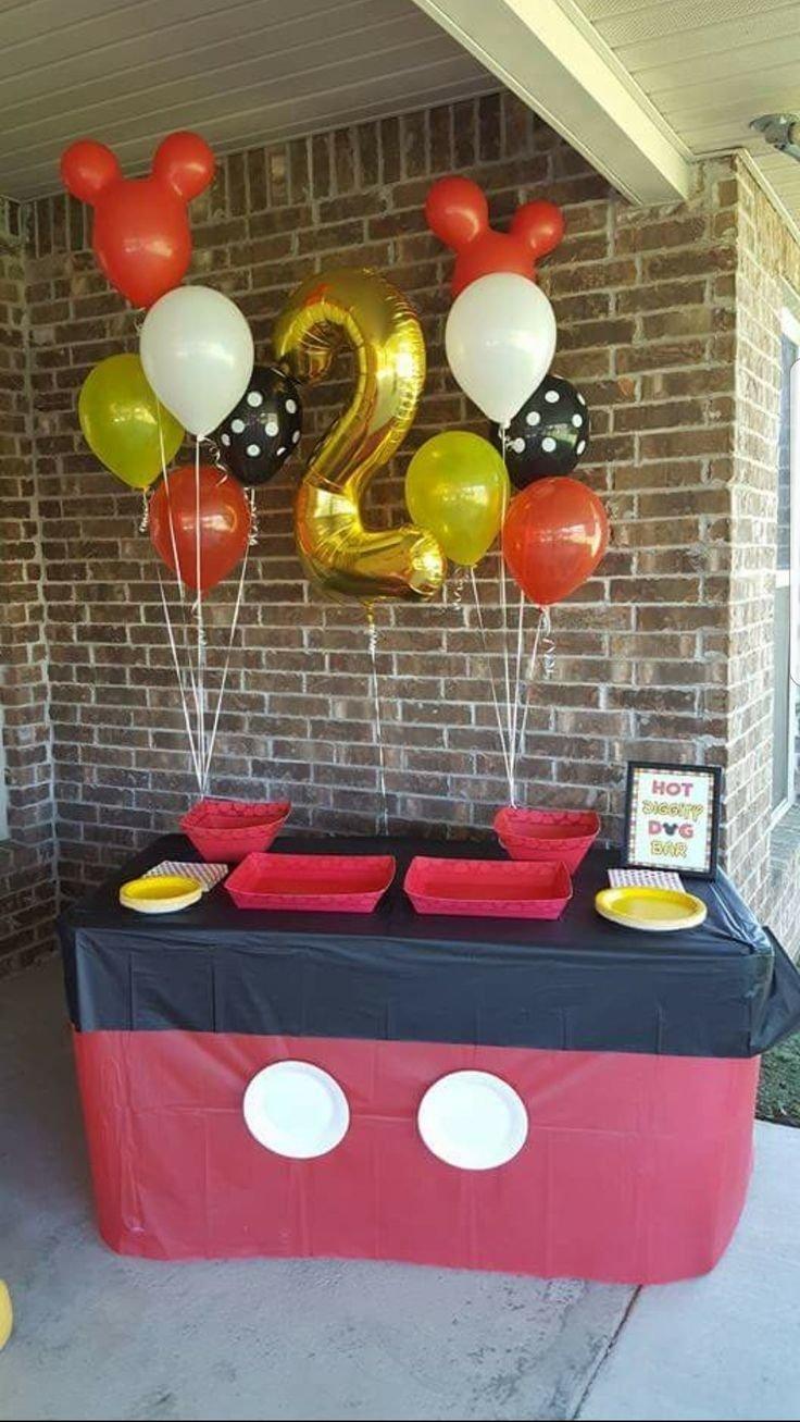 10 Trendy Mickey Mouse Theme Party Ideas les 68 meilleures images du tableau birthday parties sur pinterest