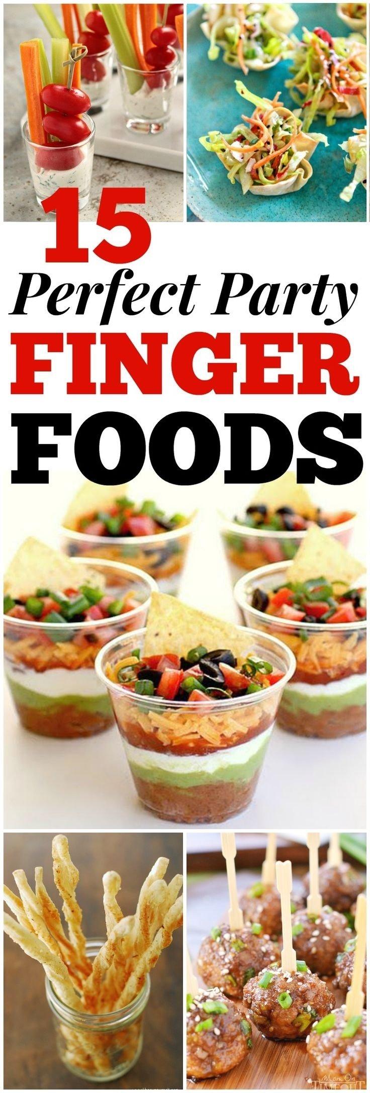 10 Pretty Birthday Party Finger Food Ideas For Adults les 8 meilleures images du tableau party foods sur pinterest 1 2020