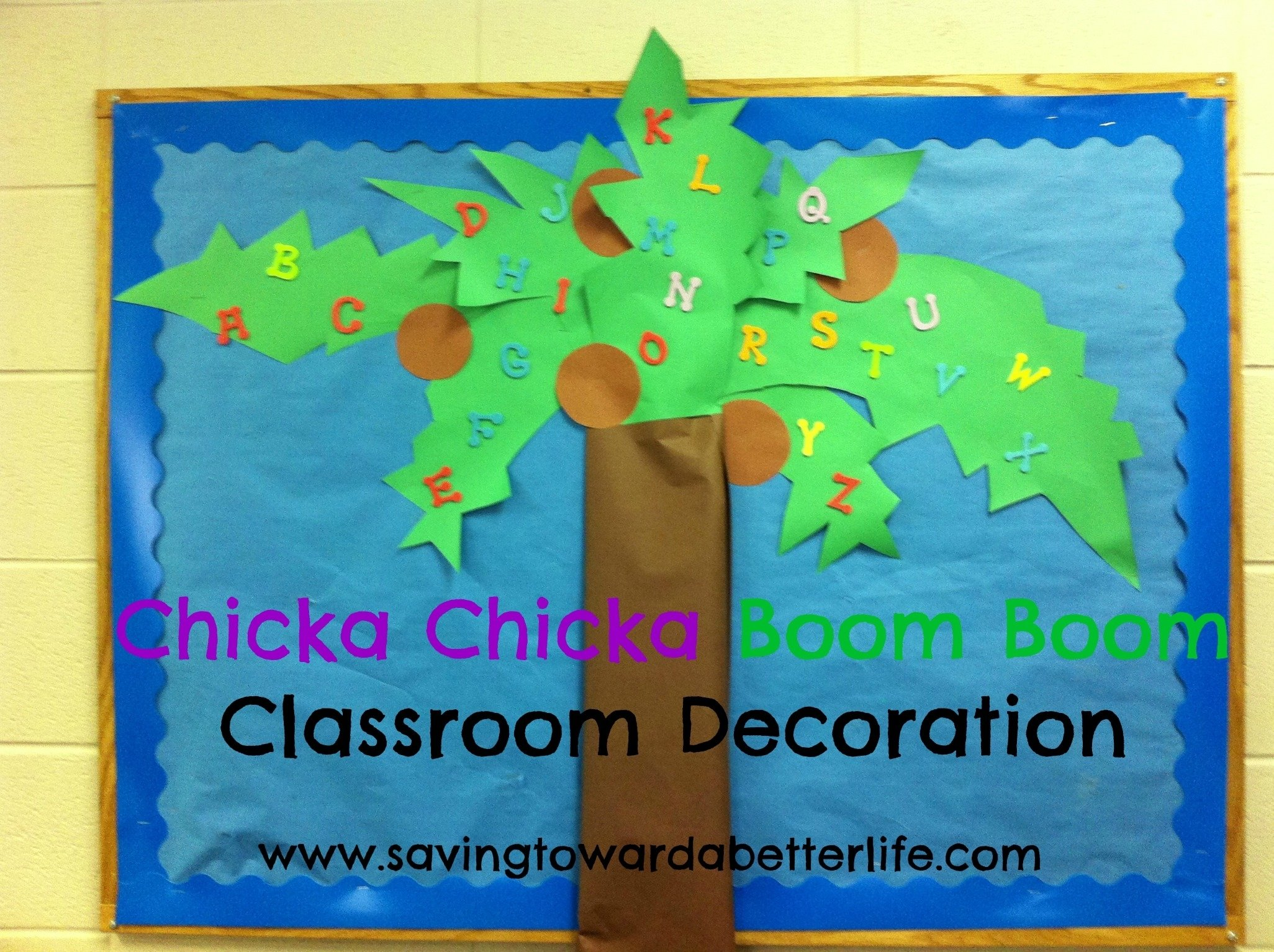 10 Best Chicka Chicka Boom Boom Bulletin Board Ideas letter learning ideas with chicka chicka boom boom saving toward a 2020