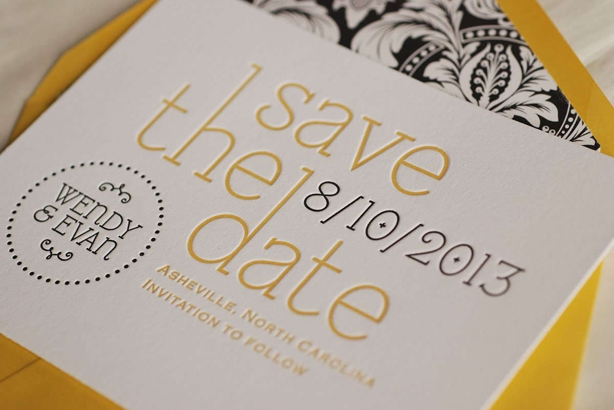 10 Most Popular Cheap Save The Date Ideas letterpress ideas save the date cards modern designing template 2020