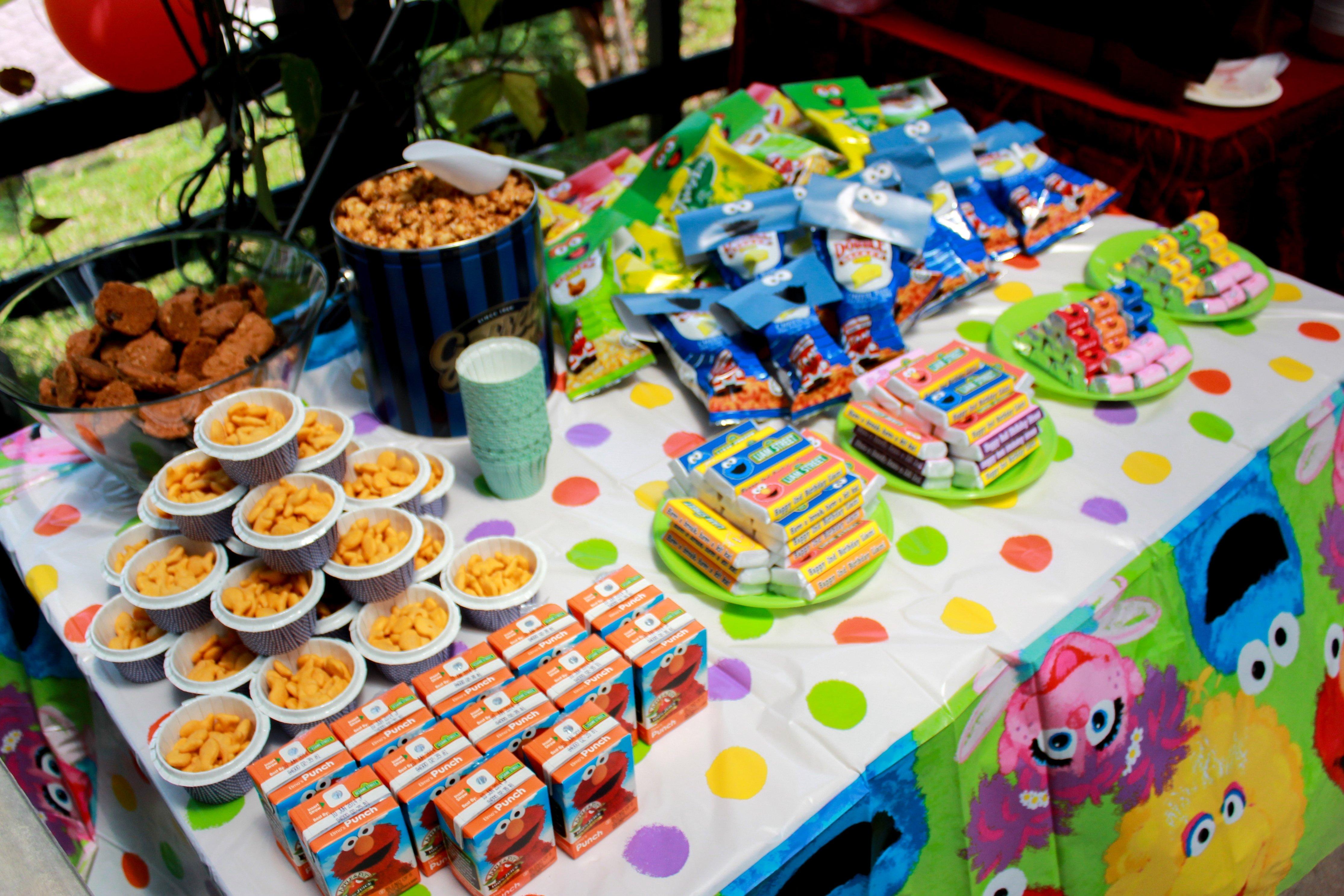 10 Attractive Sesame Street Party Food Ideas liam turns 2 a sesame street kinda birthday bash so natty 2020