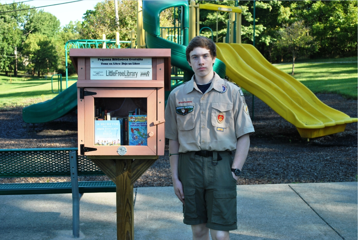 10 Fashionable Ideas For Eagle Scout Projects library build case study eagle scout project little free library 2021