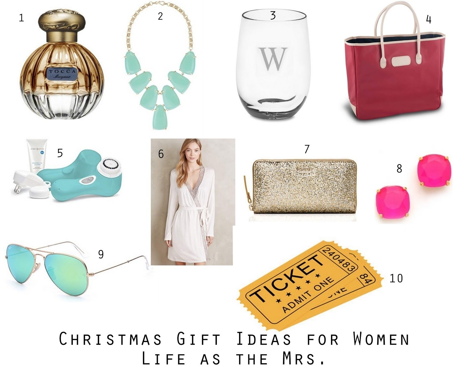 life as the mrs.: thoughts for thursday: christmas gift ideas for women