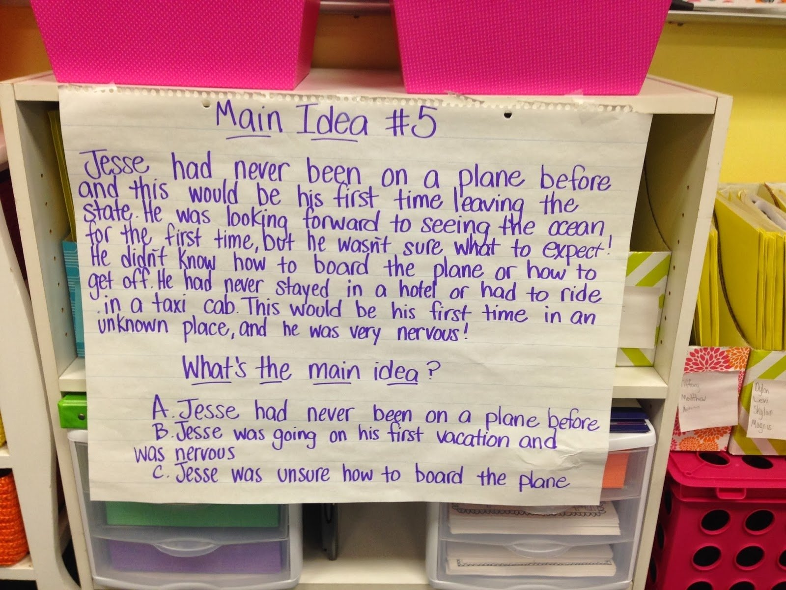 10 Cute What Is The Main Idea Of A Book life in fifth grade task cards classroom face lift and a good book 2021