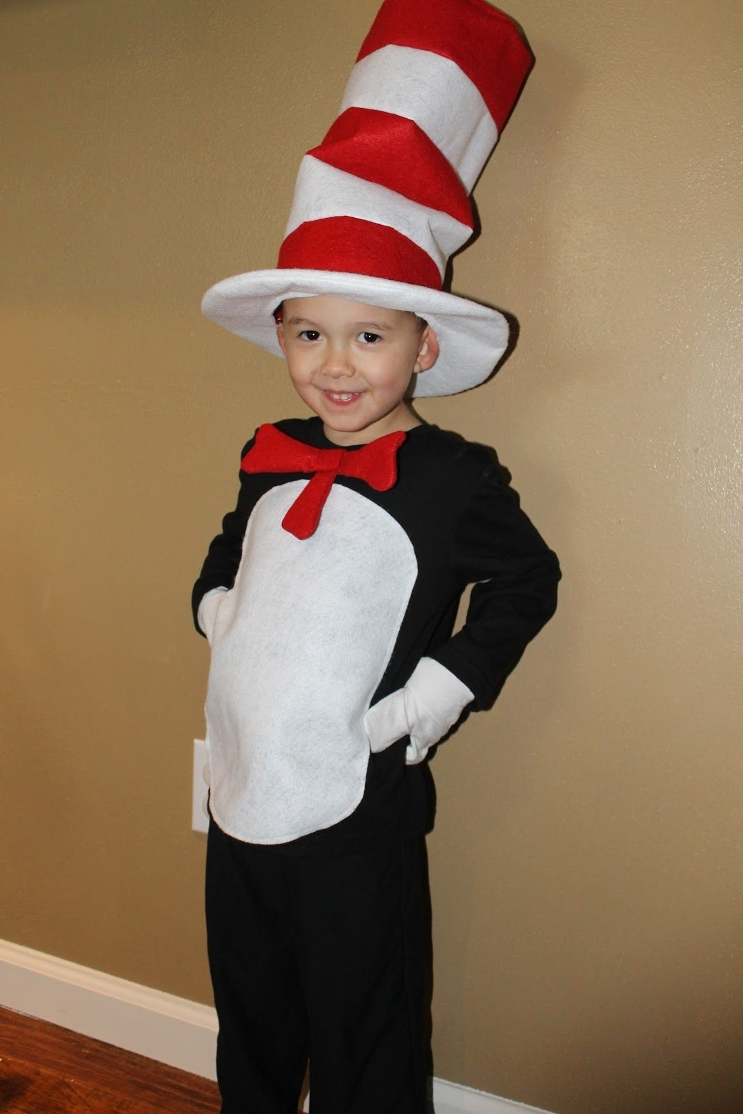 life is good: cat in the hat costume tutorial