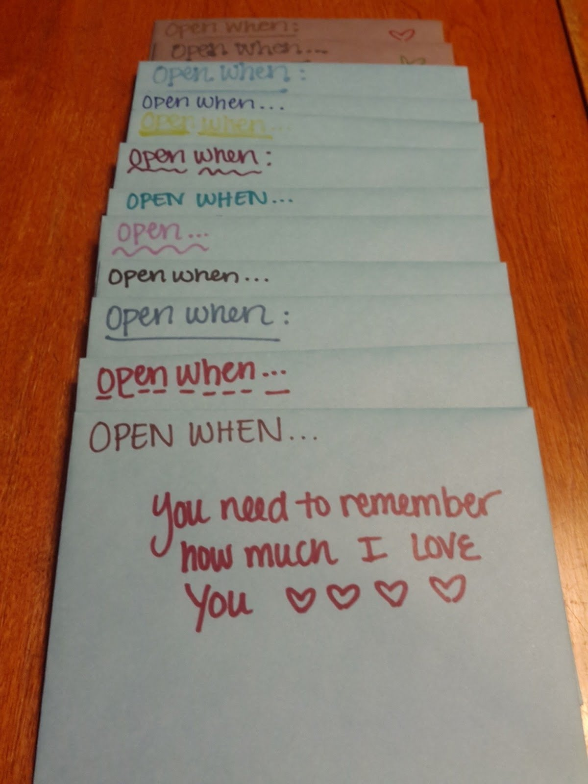 10 Spectacular Love Note Ideas For Him life love lauren open when follow up 2020