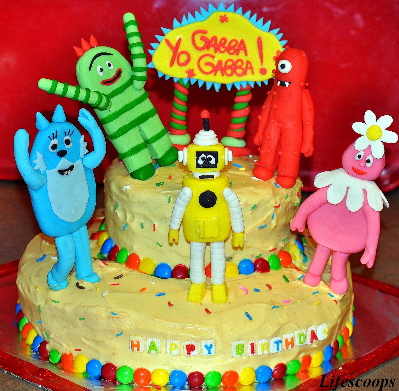 10 Gorgeous Yo Gabba Gabba Cakes Ideas life scoops yo gabba gabba cake for mikaelas 2nd birthday orange 2020