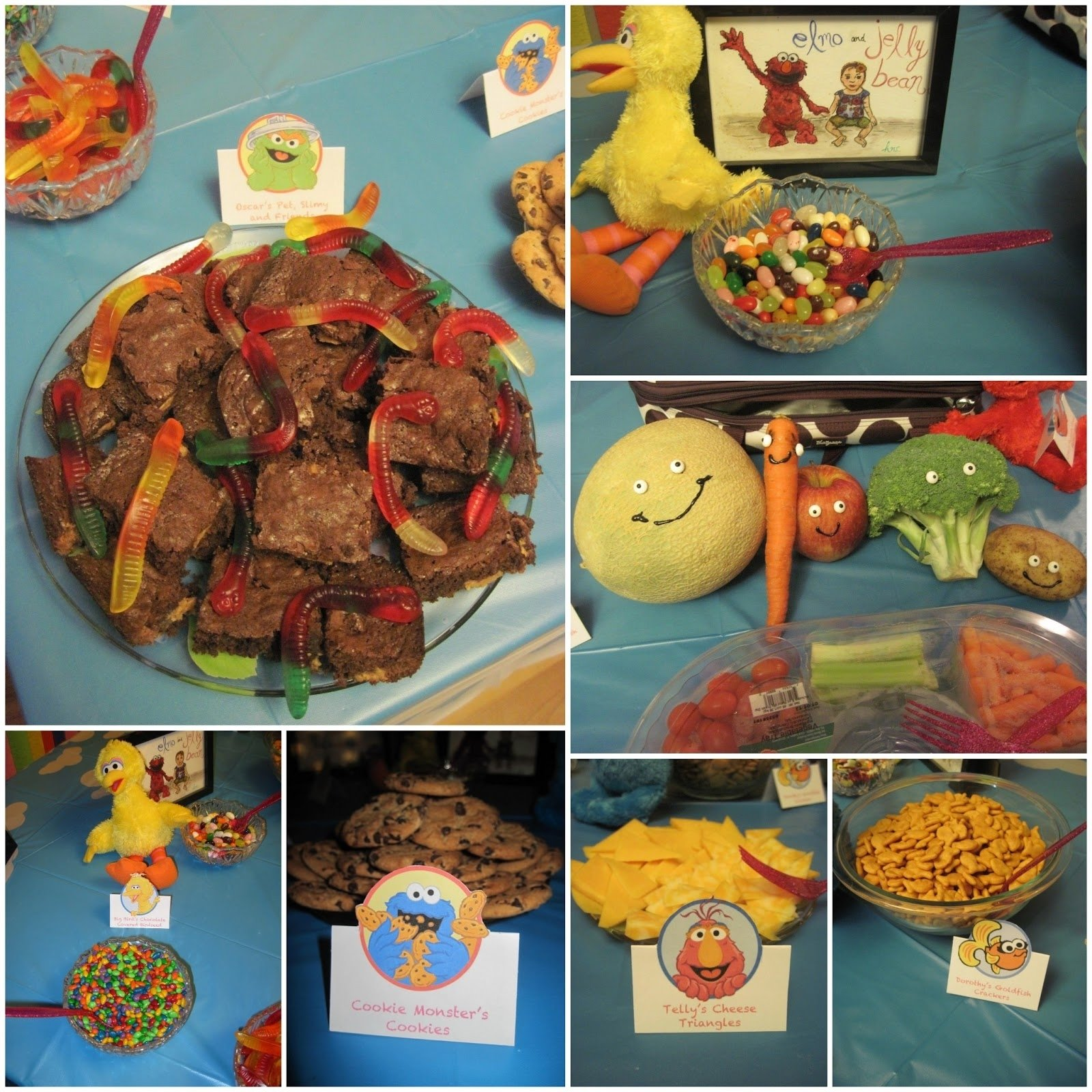 10 Attractive Sesame Street Party Food Ideas life with crazy rachel sesame street birthday party 2020
