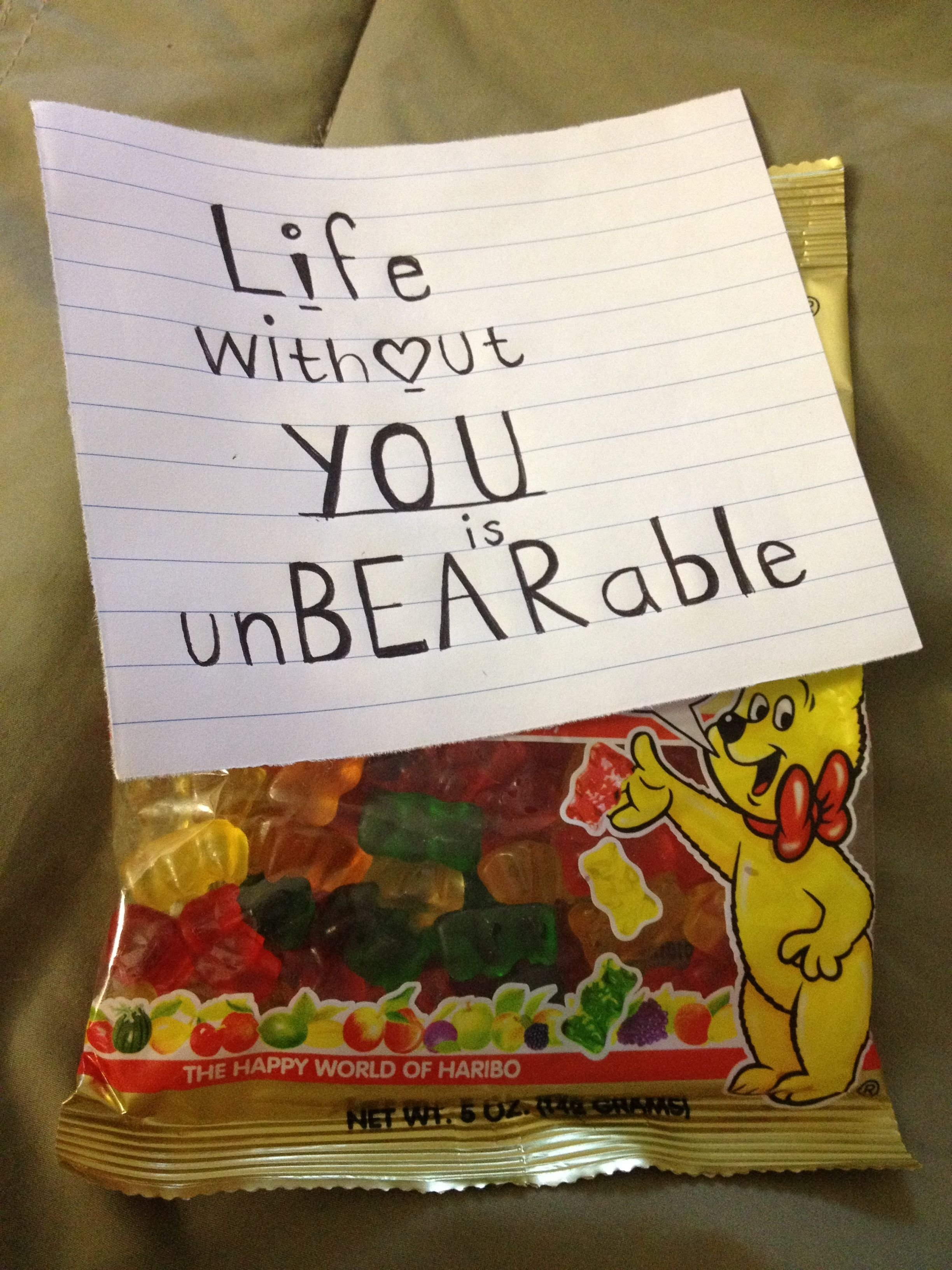 10 Unique Gift Ideas For Your Girlfriend life without you is unbearable i 3 you love note for my boyfriend