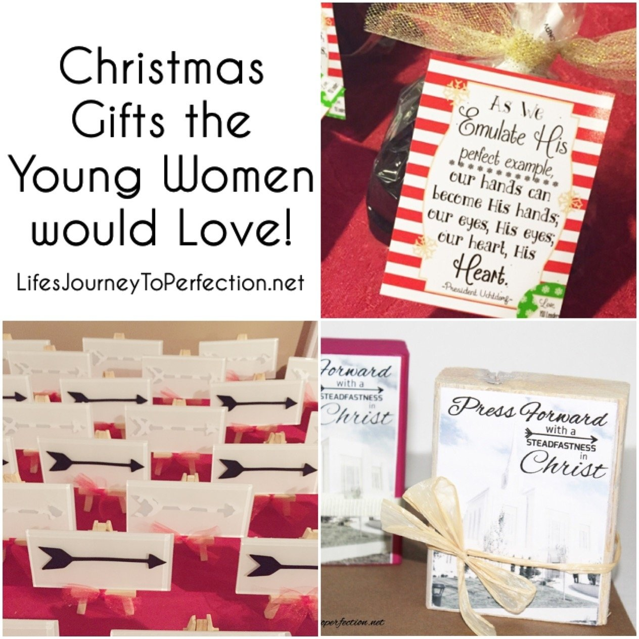 life's journey to perfection: christmas gifts the young women will love!