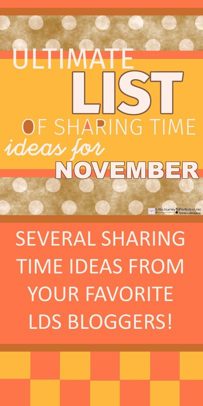 10 Attractive Lds Primary Sharing Time Ideas lifes journey to perfection ultimate list of lds sharing time 1 2020